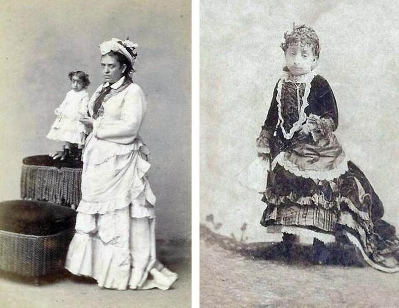 Самые маленькие среди женщин в мире