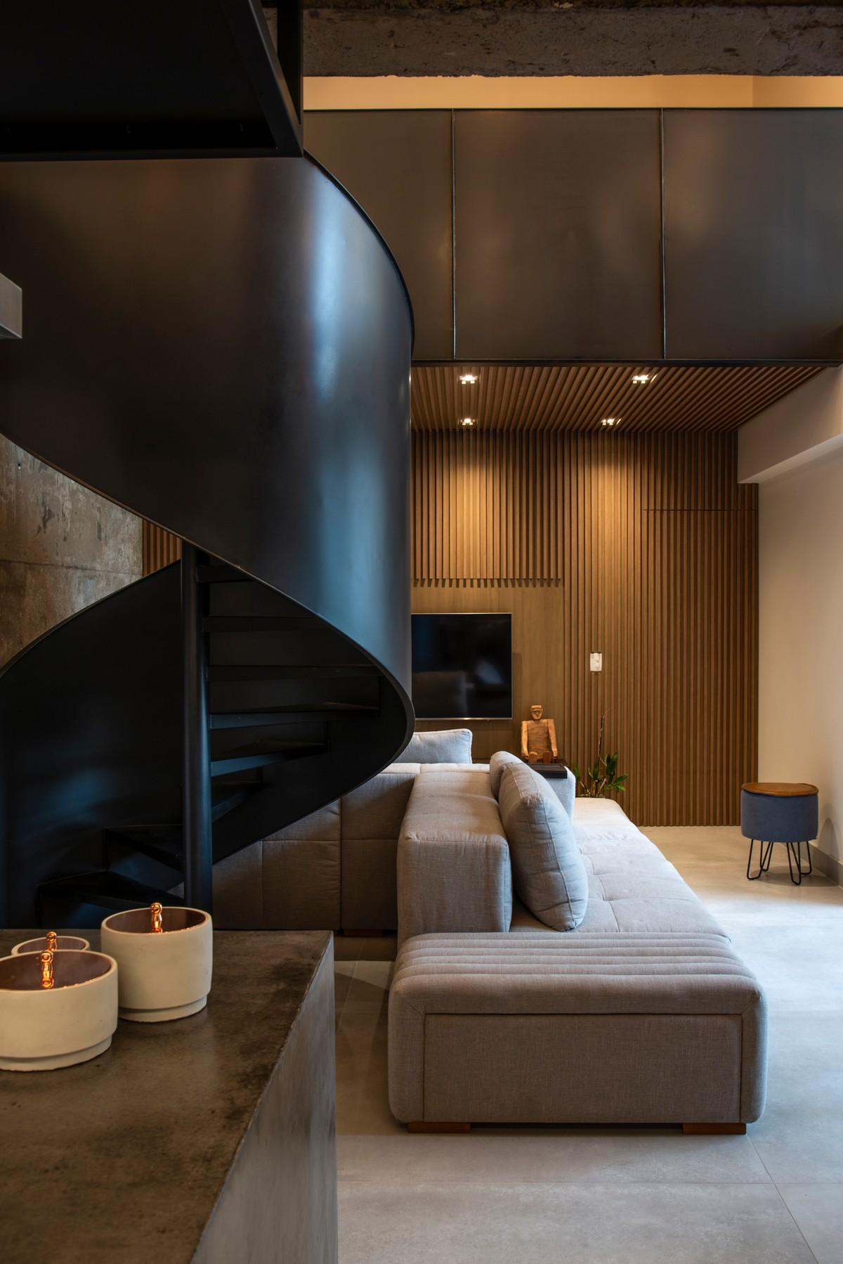 Реконструкция квартиры для молодой пары в Бразилии
