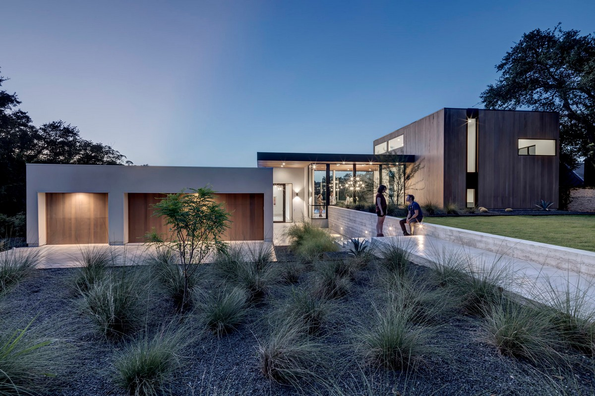 Современный семейный дом в штате Техас