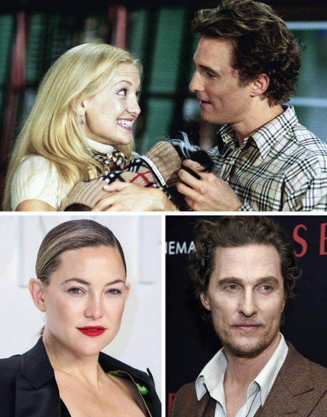 Знаменитые актёрские пары из фильмов: тогда и сейчас