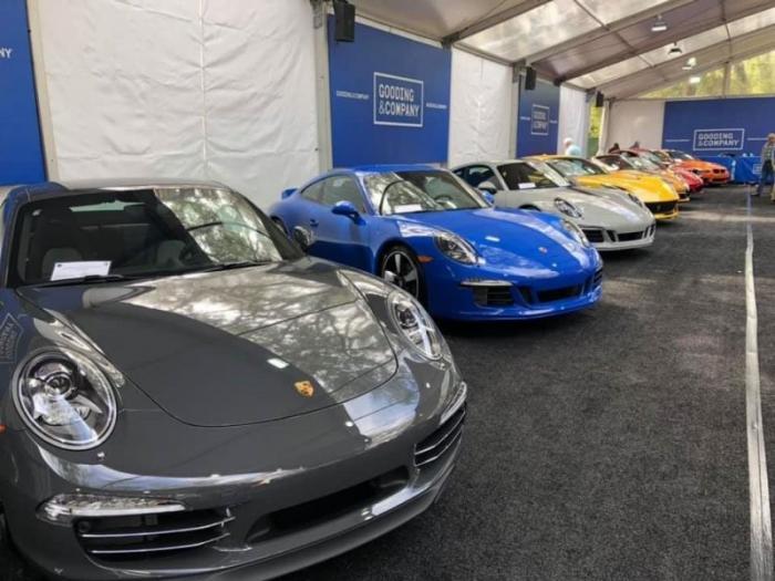 Самые дорогие автомобили Gooding&Company Amelia Island 2020