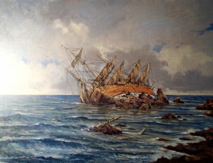 Неожиданные открытия, связанные с кораблекрушениями