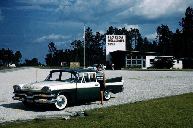 Соединенные Штаты Америки в 1950-е годы на снимках