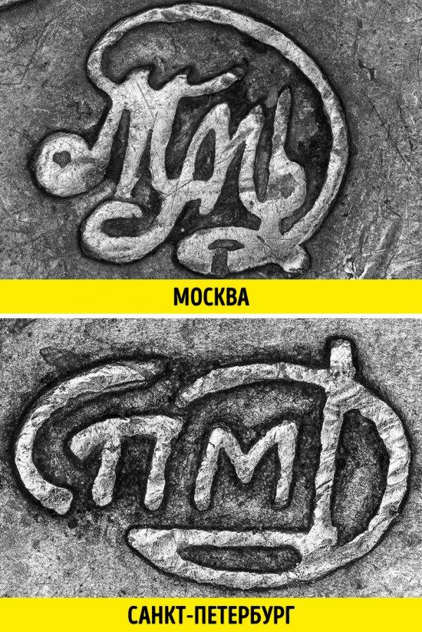 Сравнение разных вещей на снимках через микроскоп