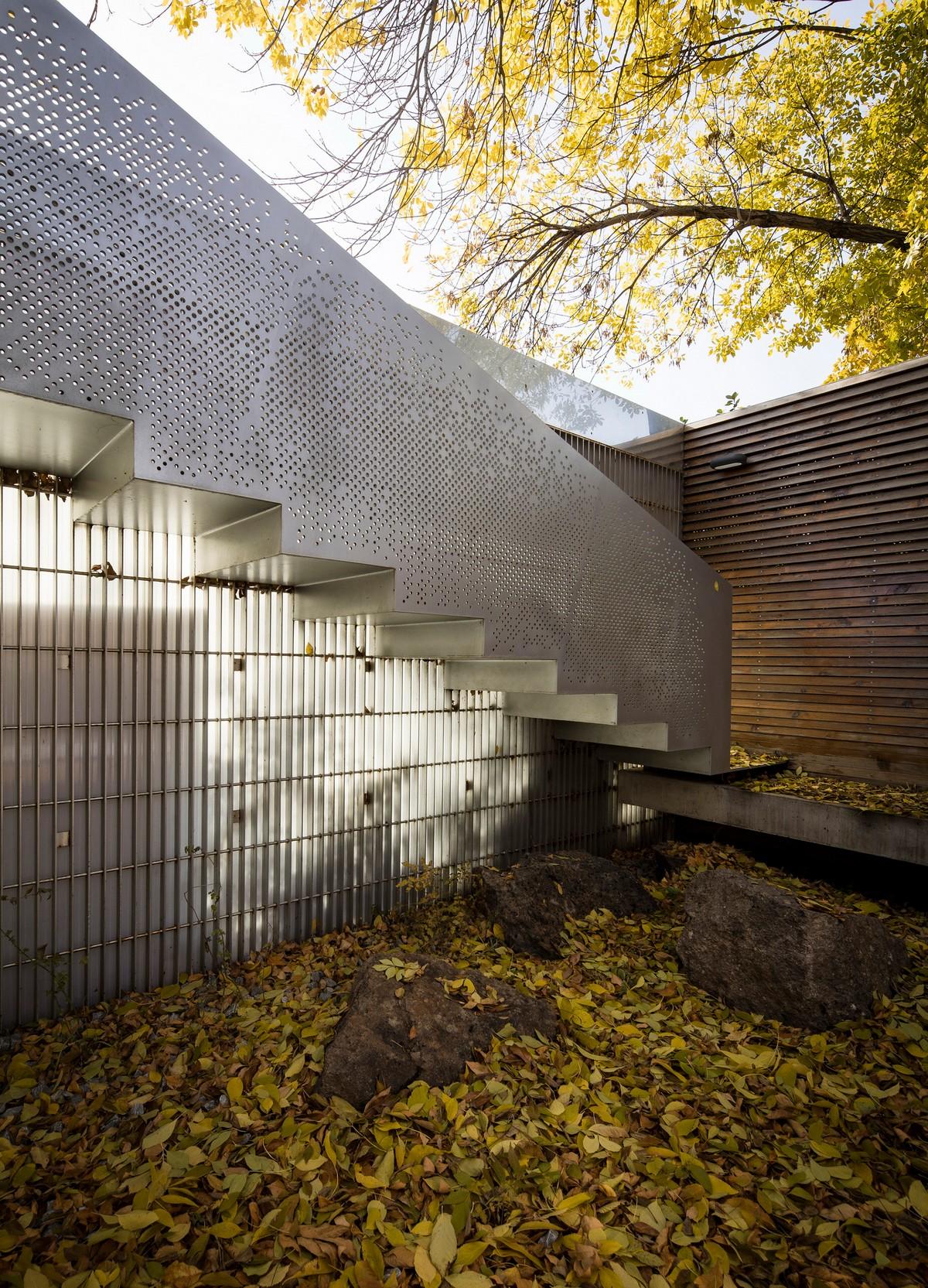 Дом с интеграцией пространств в Пекине