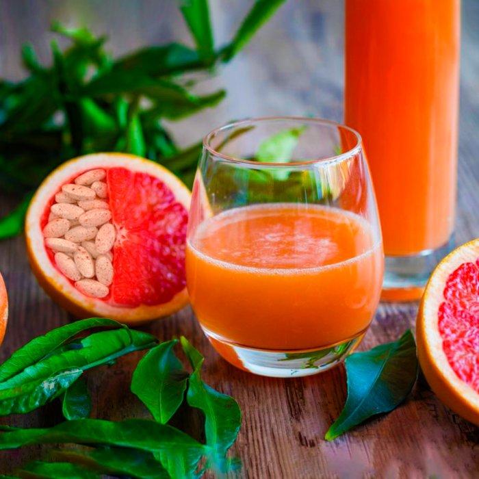 Почему лекарства не стоит запивать грейпфрутовым соком (ФОТО)