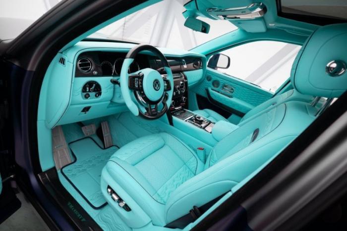 Rolls-Royce Cullinan Coastline от ателье Mansory