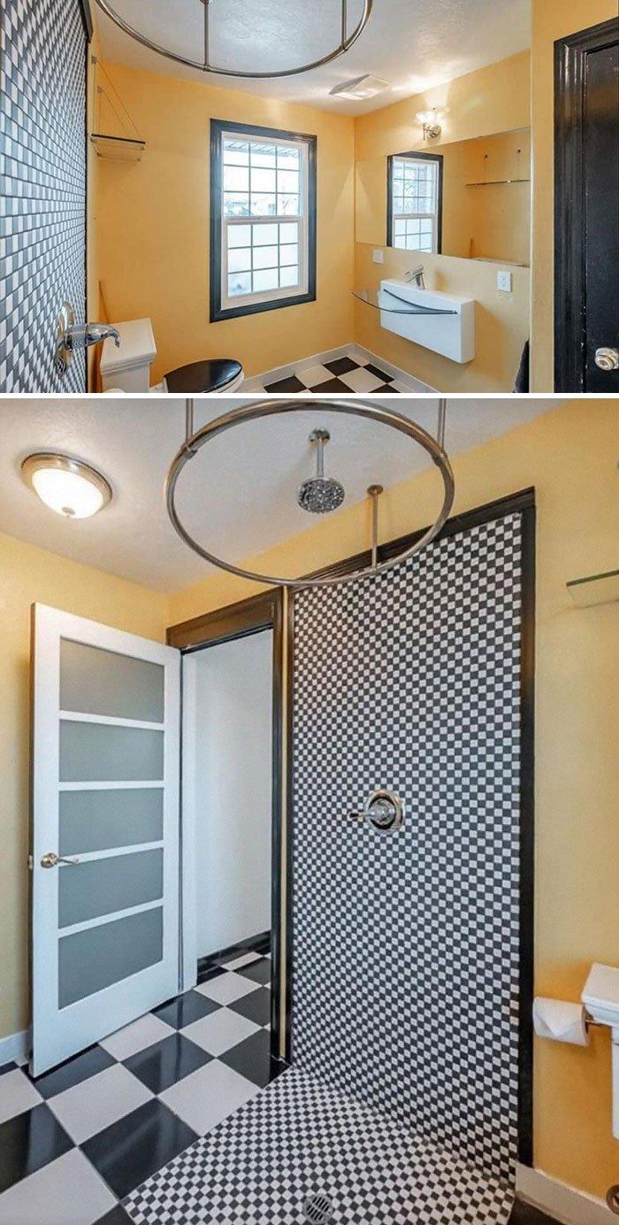 Очень необычные и странные интерьеры ванных комнат