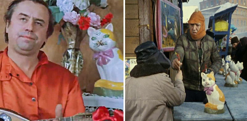 Одинаковые костюмы и реквизит в разных советских фильмах