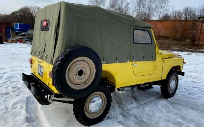 Прототип внедорожника Москвич-415С после полной реставрации
