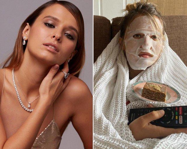 Знаменитости, которые не пользуются макияжем на карантине
