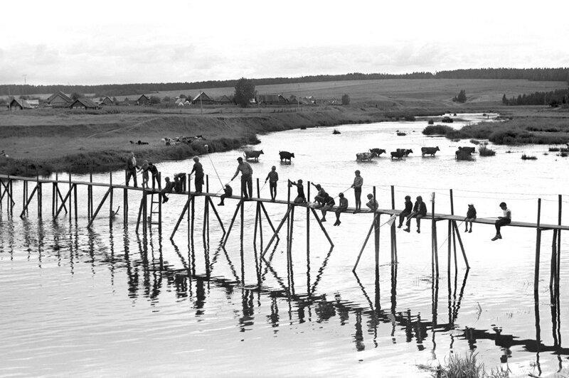 Az Urál az 1980–1990-es években Ivan Galert fényképein