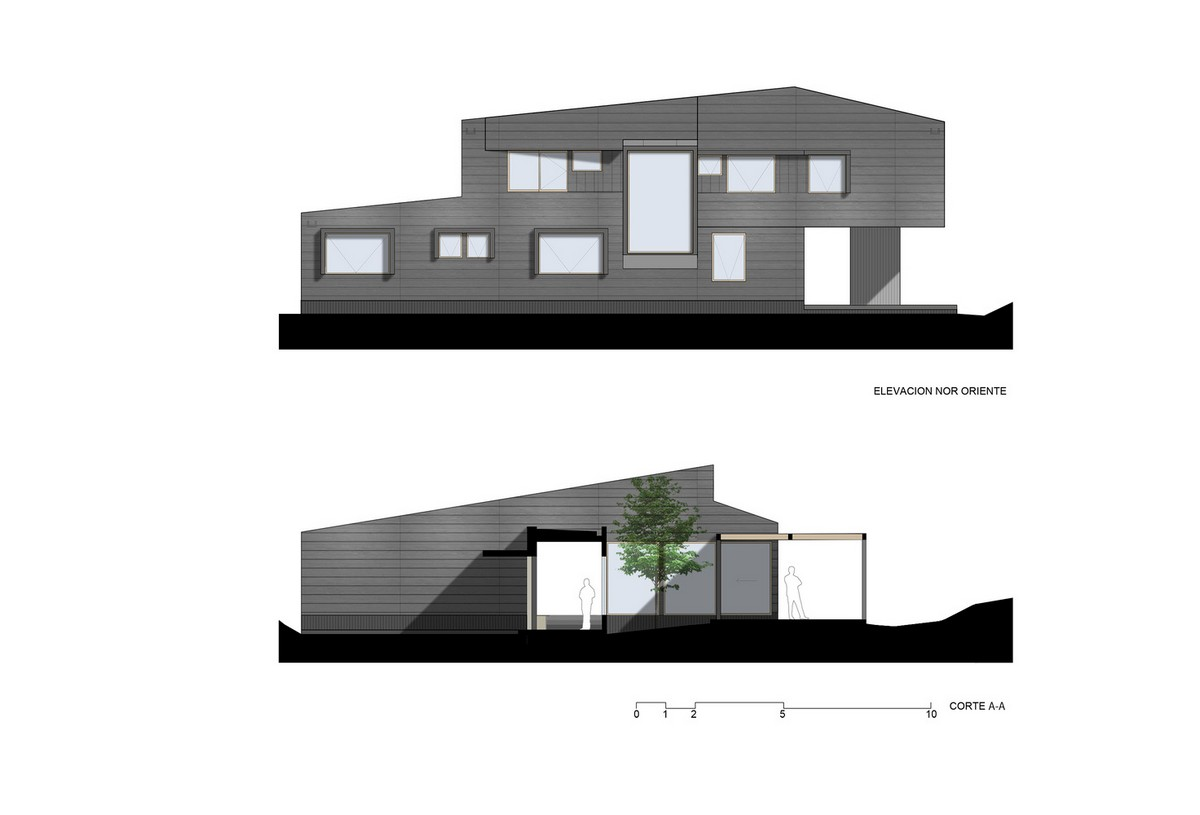 Современный загородный дом в Чили Картинки и фото