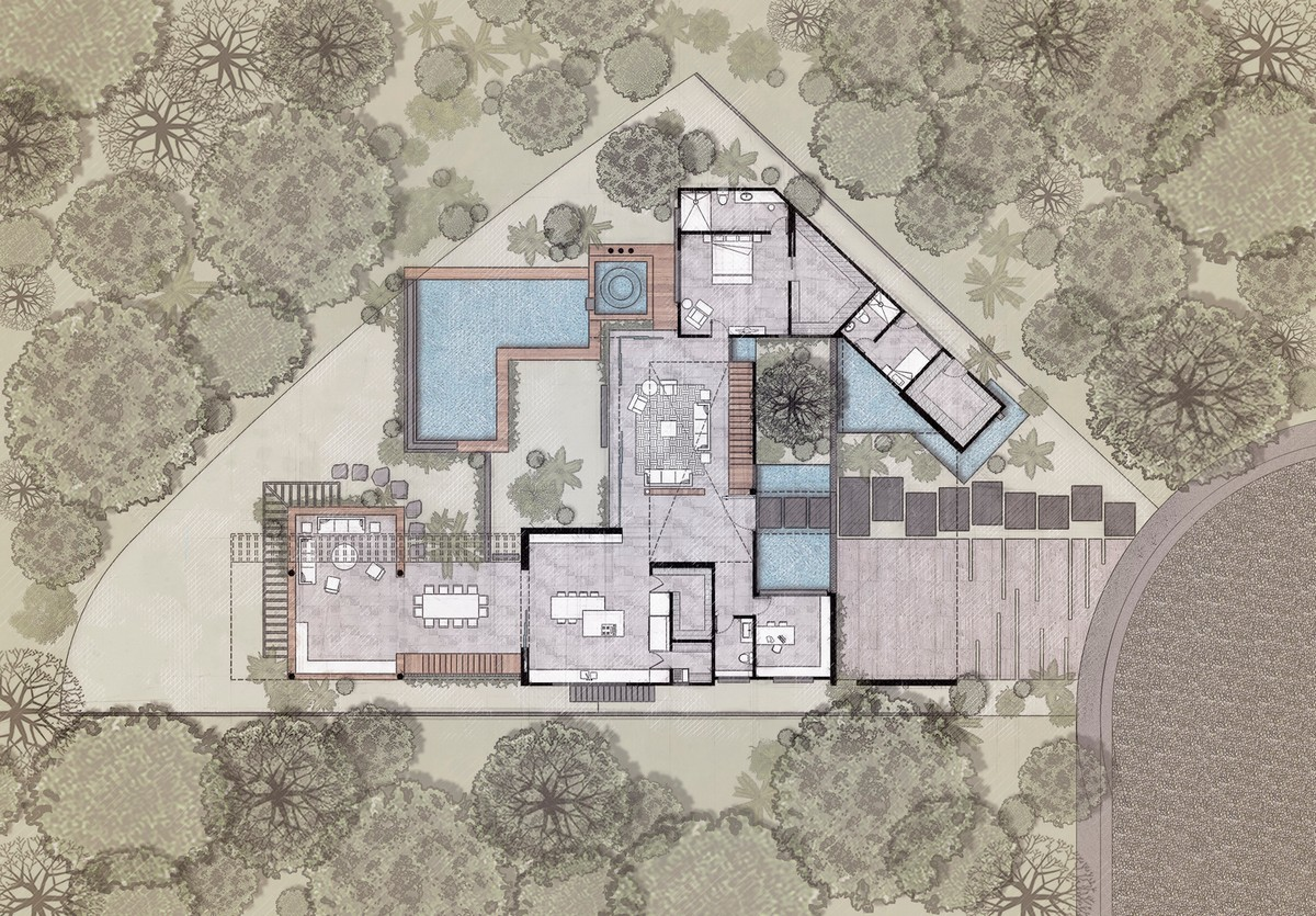 Большой семейный дом в Мексике