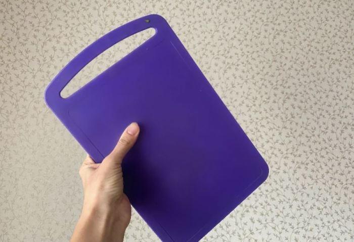 Как можно использовать вырез на разделочной доске