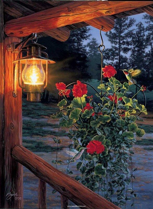 Живописные картины Даррелла Буша