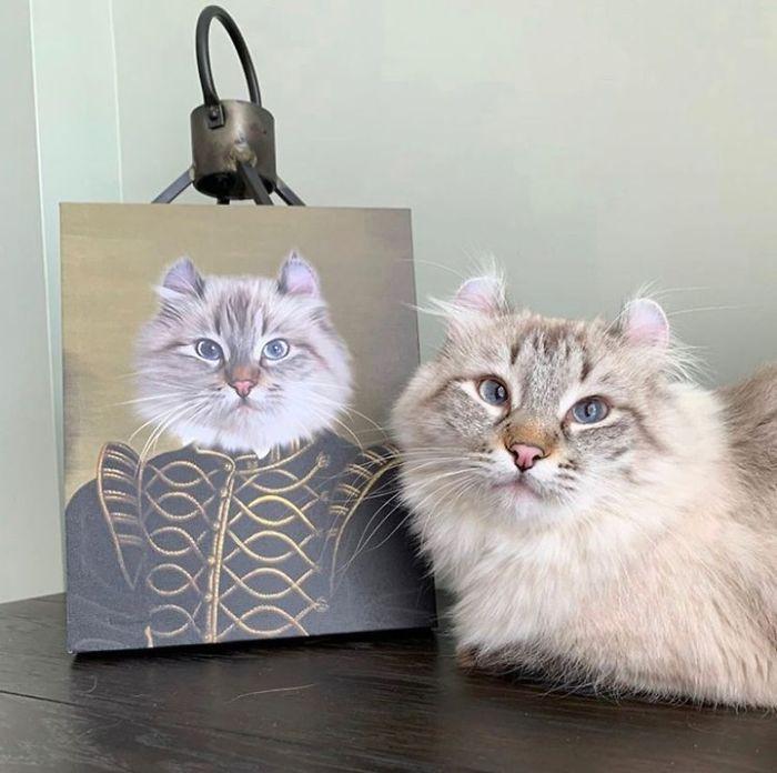 Домашние питомцы на королевских портретах