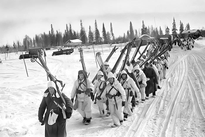 Как советские лыжники наводили страх на фашистов