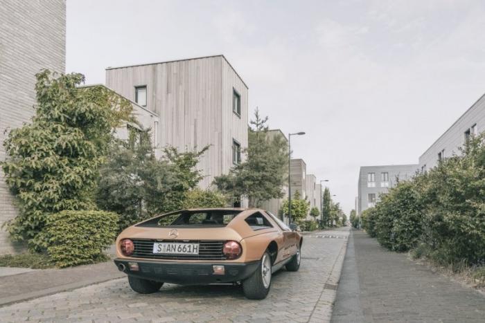Mercedes C111/II - опередивший время