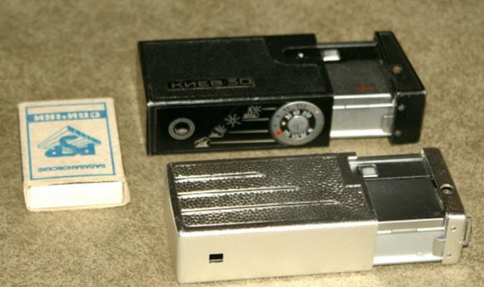 Шпионский фотоаппарат из СССР