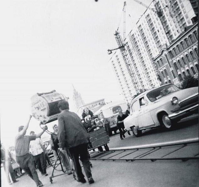 Кадры со съемок популярных советских фильмов