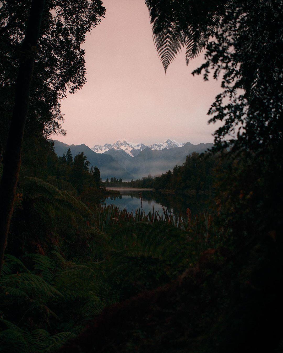 Природа и путешествия на снимках Йоханнеса Хена