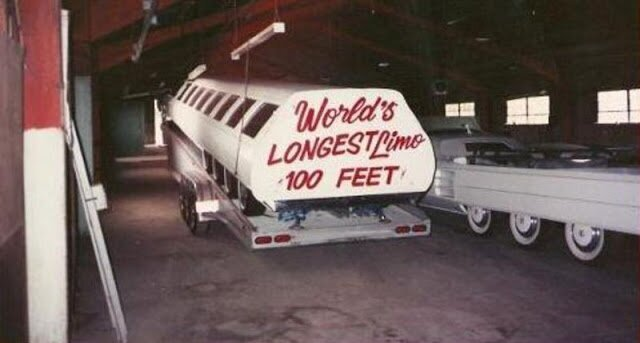 Самый длинный из лимузинов в мире