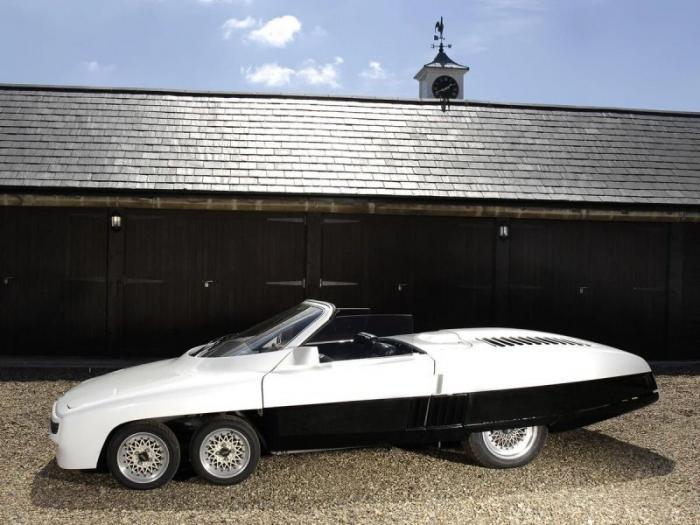 Panther 6 – шестиколесный автомобиль будущего из 1977 года