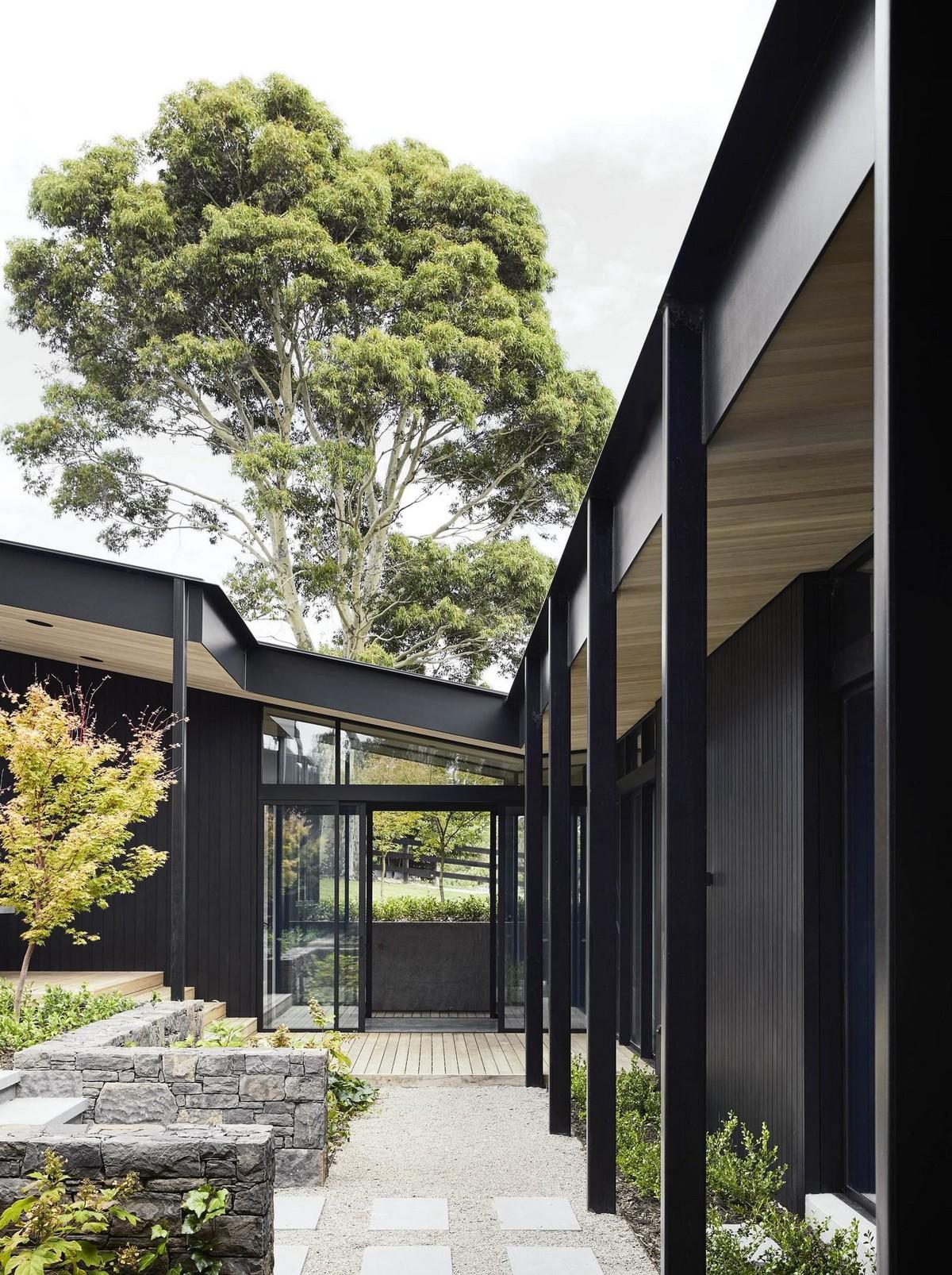 Современный сельский дом в Австралии