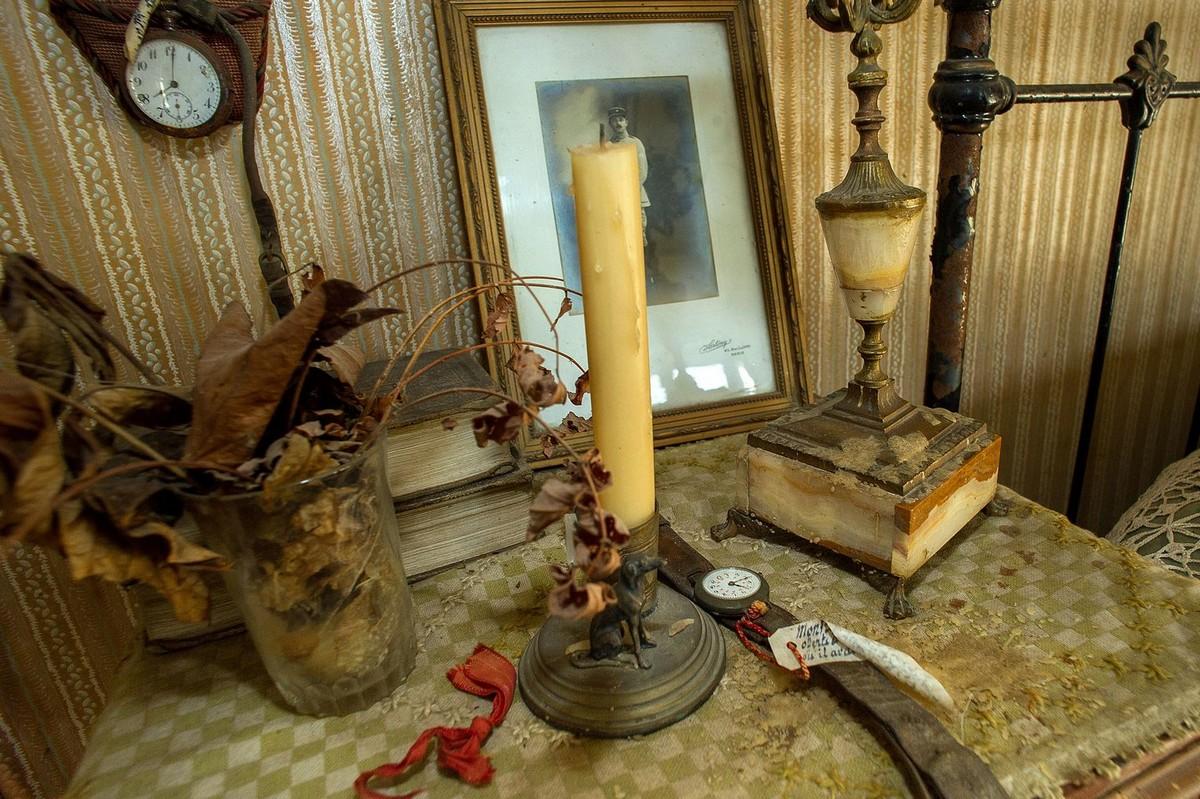 Застывшая во времени спальня французского солдата с 1918 года