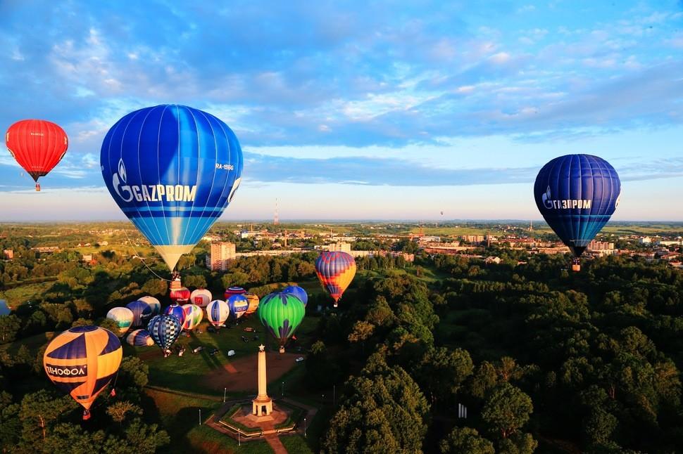 Зрелищные фестивали воздушных шаров по всему миру