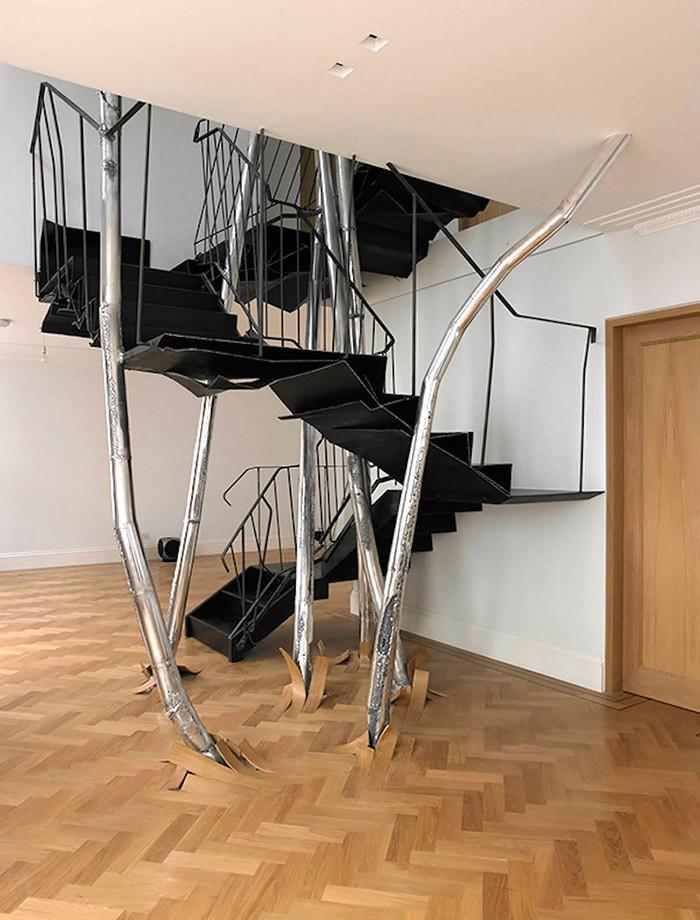 Дизайнерские лестницы, которые доставляют эстетический восторг