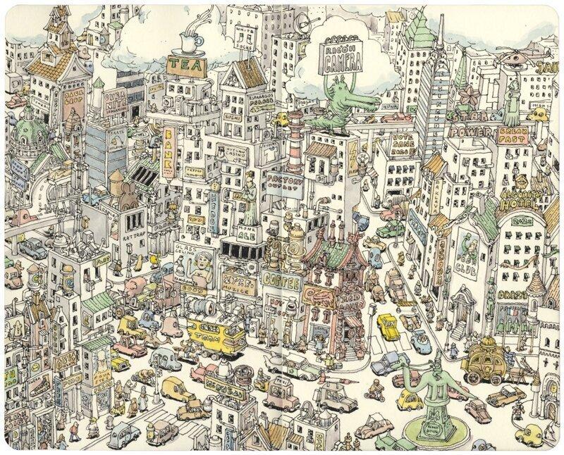 Невероятно детальные картины о мировом хаосе
