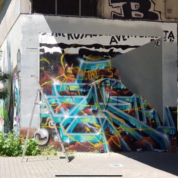 Уличный художник Том Брагадо Бланко заставляет стены оживать