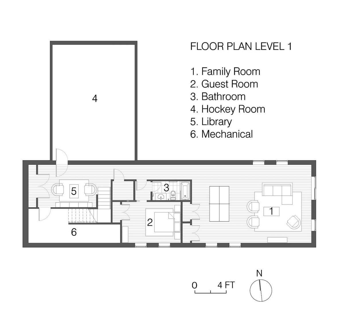 Частный дом для семьи в Атланте