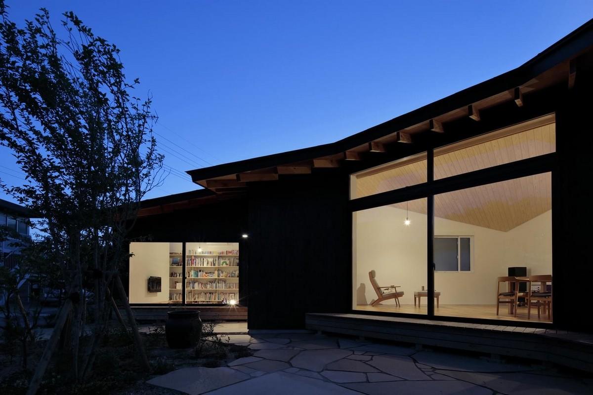Дом в японской деревне для жизни на пенсии