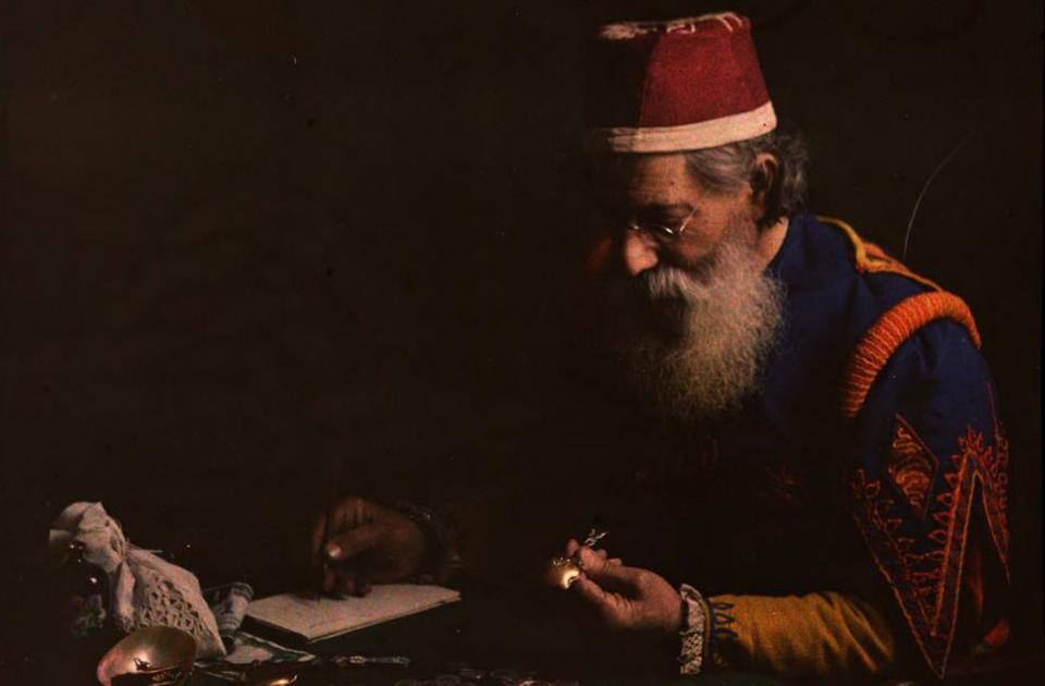 Первые цветные снимки от братьев Люмьер