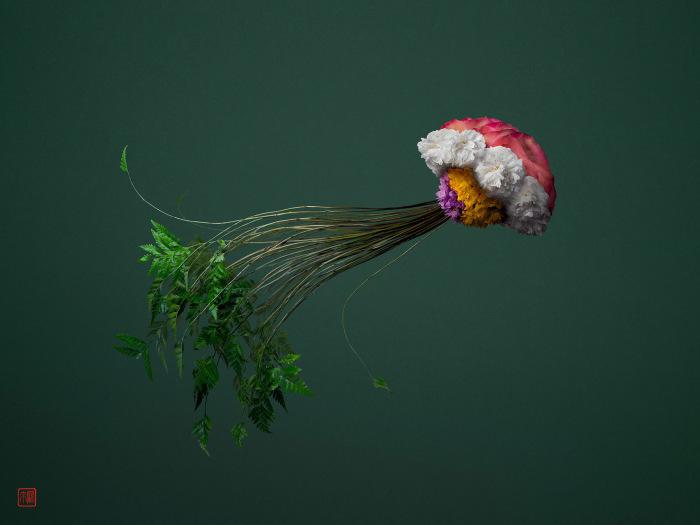 Японец покорил соцсети своими цветочными композициями