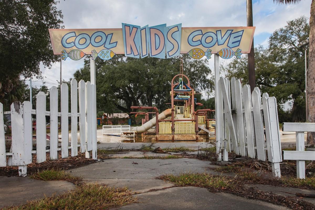 Жуткий заброшенный аквапарк Wild Waters во Флориде