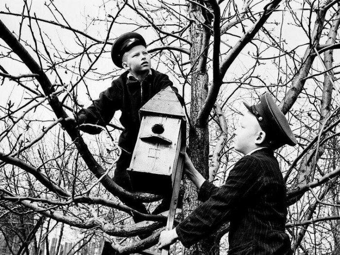 Редкие архивные кадры из прошлого в СССР