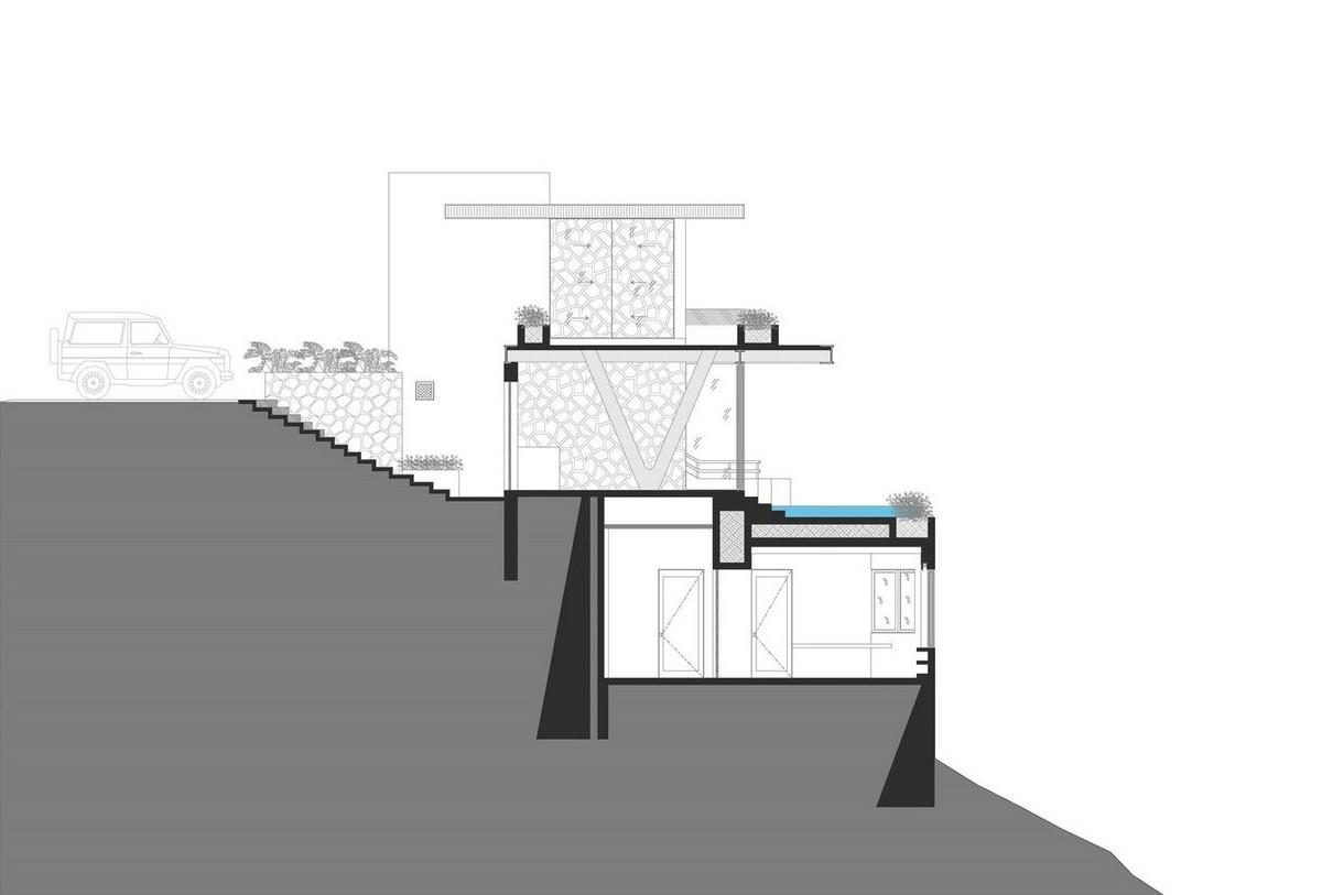 Экологичный дом с панорамной террасой в Мексике