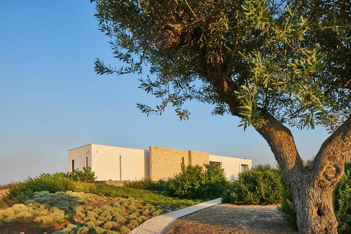 Необычный дом на острове Сицилия Картинки и фото