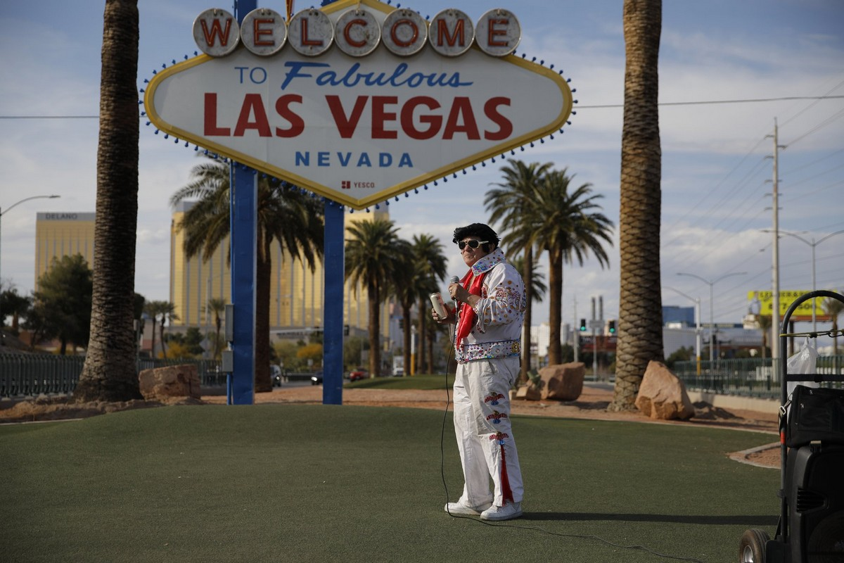Пустынный Лас-Вегас во время карантина