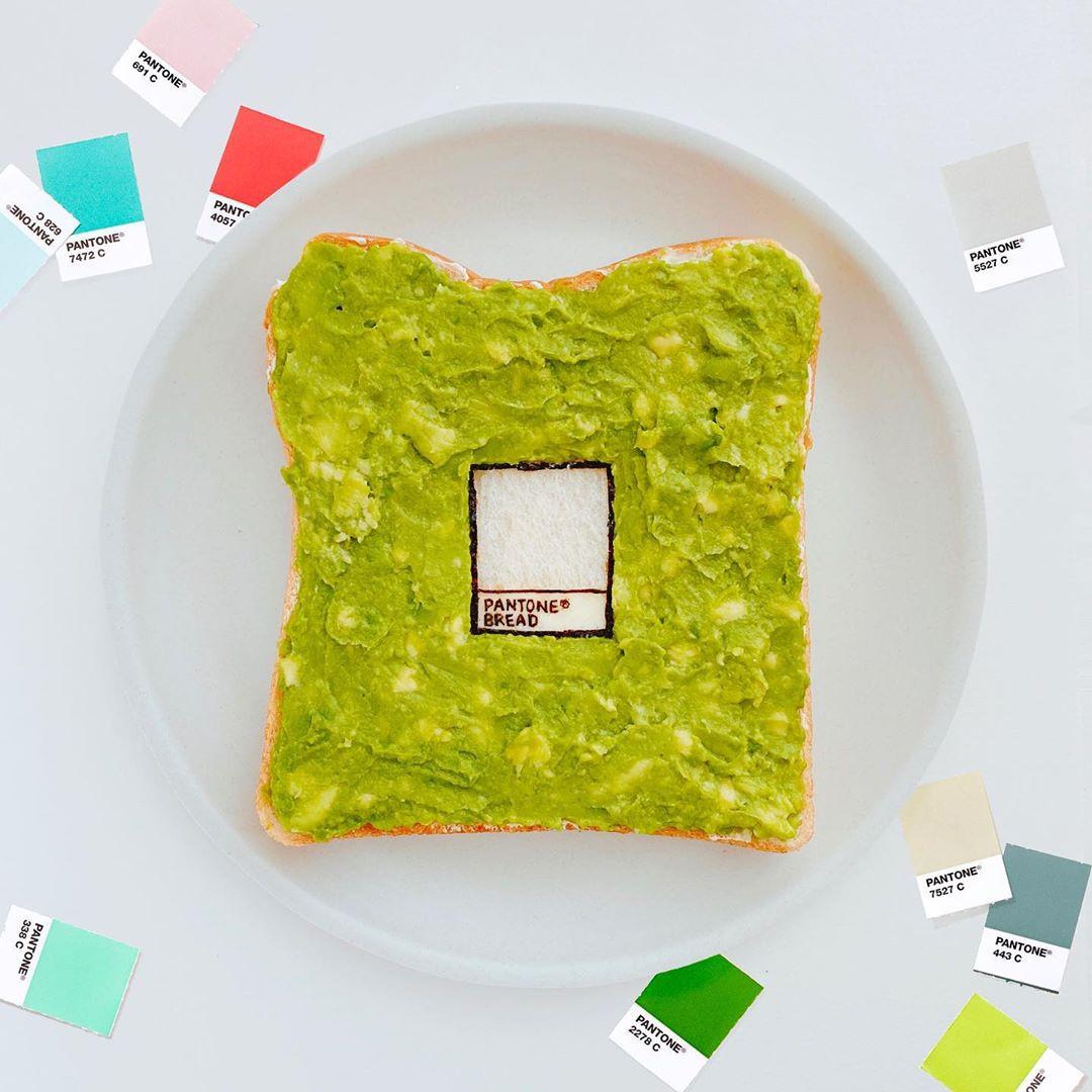 Художественные тосты в стиле японских традиций