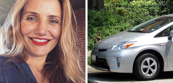 Знаменитости, которые водят недорогие машины