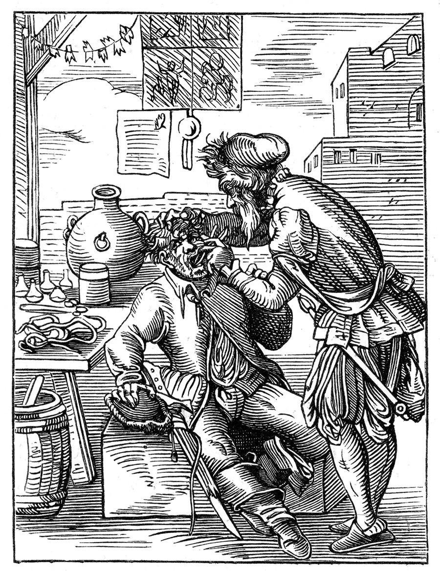 Как лечили зубы русские цари