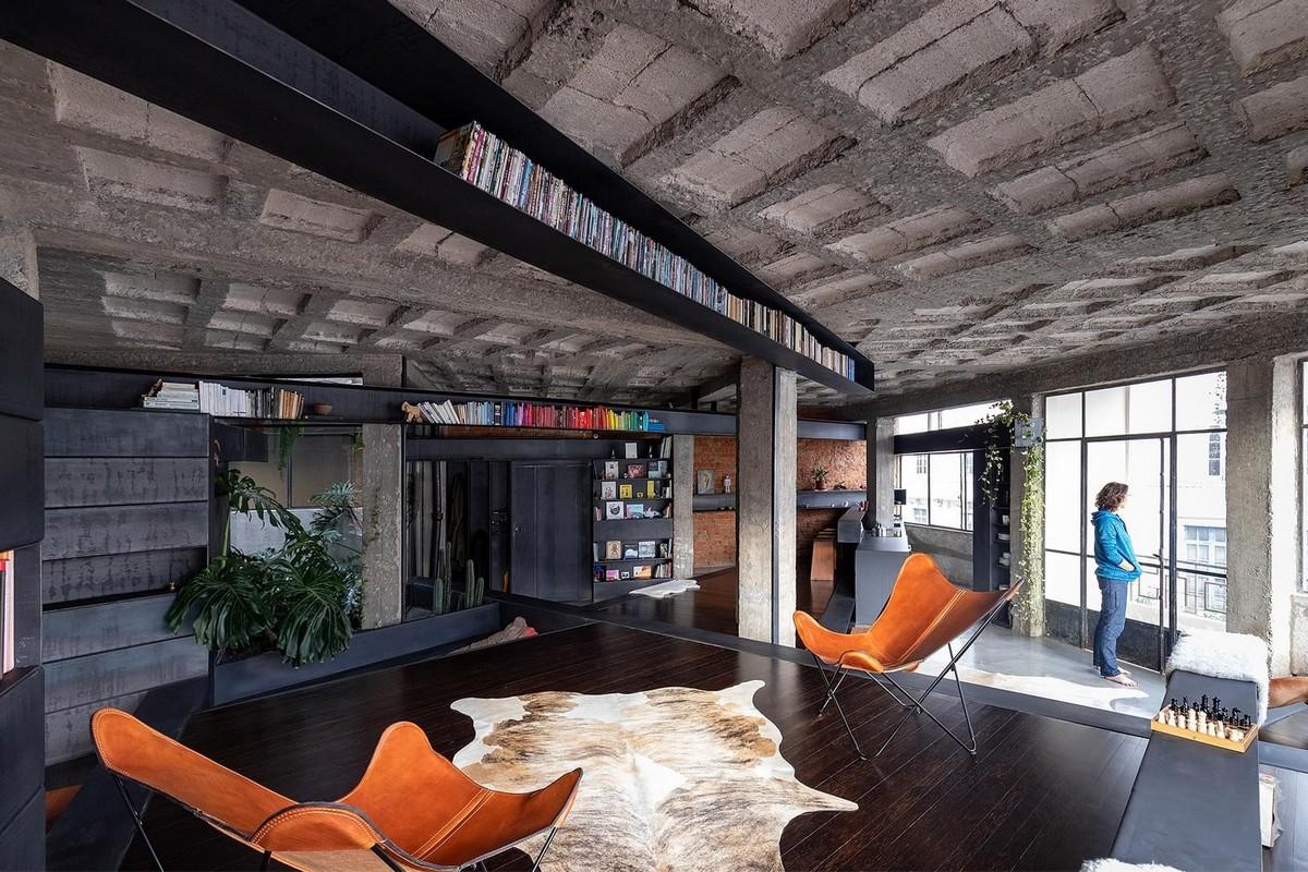 Интересный интерьер современной квартиры в Эквадоре