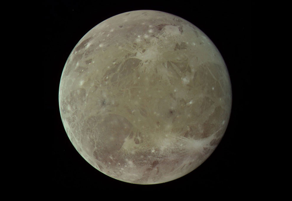 Юпитер и его галилеевы спутники на снимках