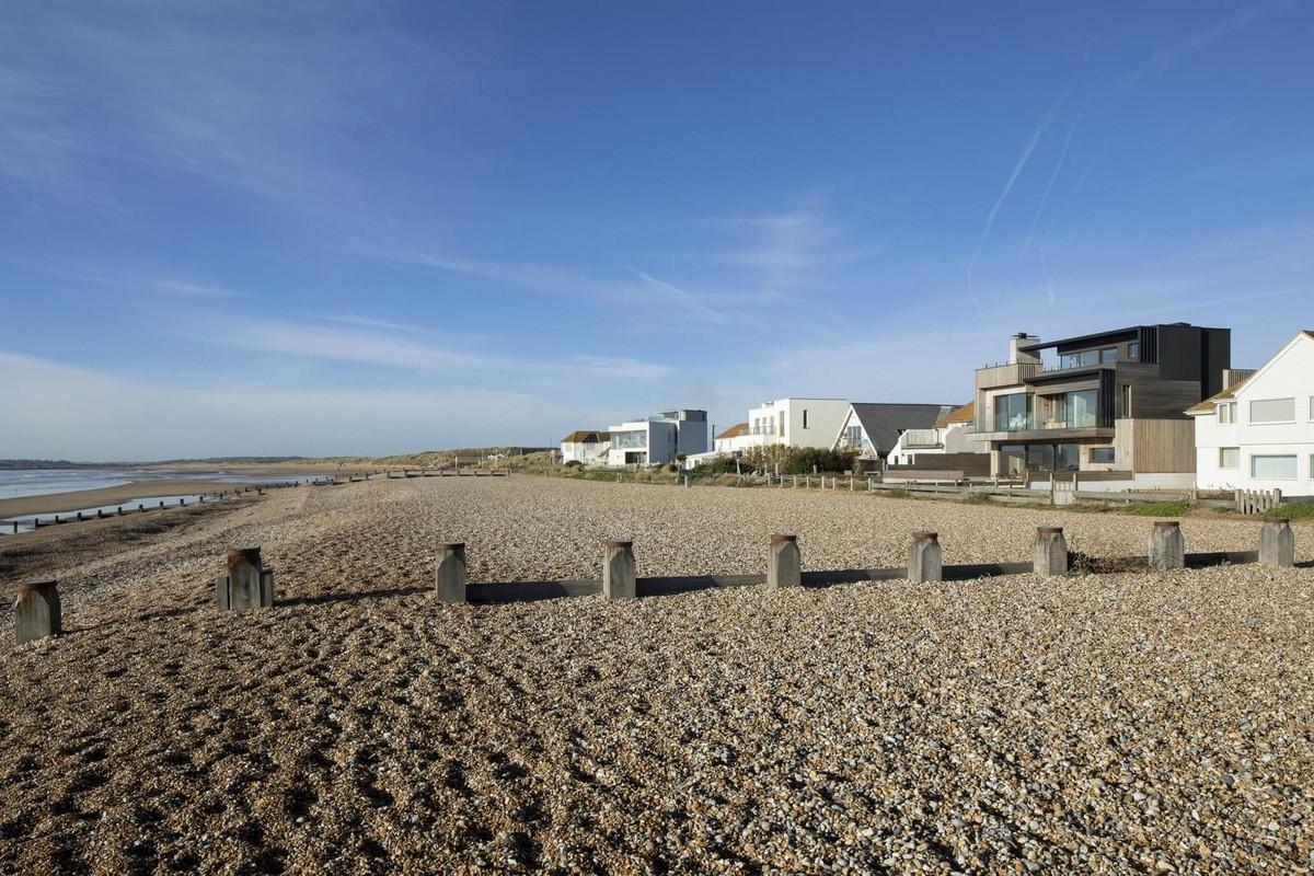 Дом на пляже в Великобритании