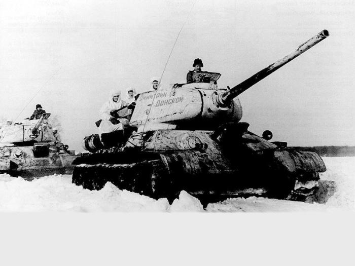 Как заводили танки на сильном морозе в годы войны